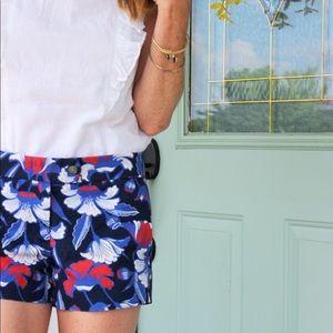 "J. Crew Factory Shorts - J Crew Floral 4"" Shorts"